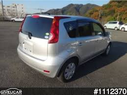 nissan note 2007 interior used nissan note from japan car exporter 1112370 giveucar