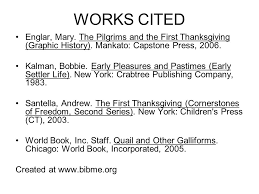 works cited correct format for websites ppt