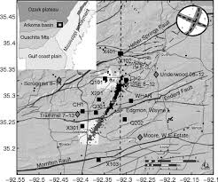 Uic Map Characteristics Of Induced Triggered Earthquakes During The