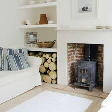 elegant living rooms with wood burning stoves and wood burning