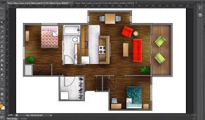 floor plan using autocad how to render a floor plan created in autocad photoshop