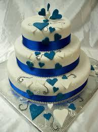 wedding cake royal blue wedding cakes royal blue wedding party decoration