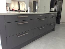 modern bar handles to go with a contemporary inzo kitchen by