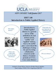 hist 148 introduction to applied history history
