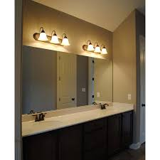contemporary nickel bathroom vanity light decor ideas kitchen a