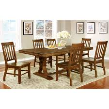 transitional dining room tables furniture of america fort wooden counter height round dining table