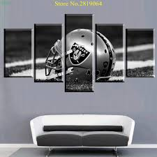 patriots posters promotion shop for promotional patriots posters unframed modern 5 panel wall painting helmet patriot poster home decor for living room