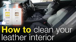 Used Cars With Leather Interior How To Clean Your Leather Interior Autoglym Leather Cleaner