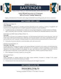 bartending resume exle bartender resume no experience http jobresumesle 755