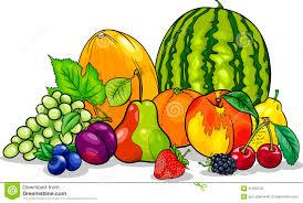 fruits group cartoon illustration stock photography image 31429702