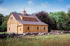 22 u0027 x 32 u0027 post u0026 beam carriage barn with 12 u0027 lean to little