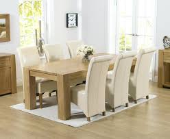 Solid Oak Dining Table And 6 Chairs 20 Oak Dining Set 6 Chairs Dining Room Ideas