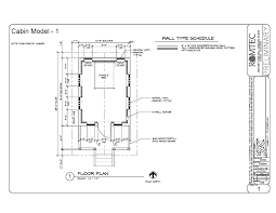 Cabin Floorplan Cabins U2013 Romtec Inc