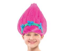 halloween city wigs amazon com just play trolls poppy wig toys u0026 games