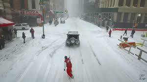 this snowstorm is the 2nd biggest in new york city u0027s history