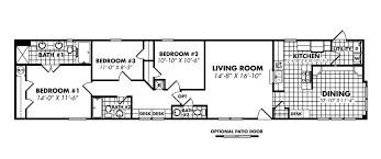 Floor Plans For Mobile Homes Single Wide Legacy Housing Single Wide Modular Manufactured Mobile Homes