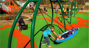 inclusive playground gametime