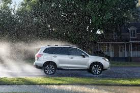 subaru forester stance 2017 subaru forester vs 2017 honda cr v which is better suited