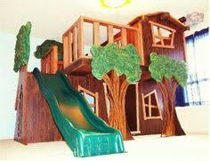 DIY Bunk Bed For Boys Room Loft Bed Tree House Bunk Bed Boys - Treehouse bunk beds