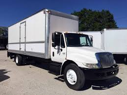 used semi trucks 2007 international 4300 26ft box truck w liftgate tampa florida