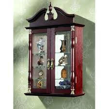 wall mounted curio cabinet wall curio cabinet to wall mounted curio cabinet with glass doors