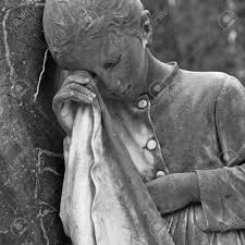 cemetery statues weeping girl cemetery statue italy stock photo picture and