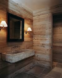 Rustic Bathrooms Designs - wood floor decorating ideas barn wood bathroom design ideas