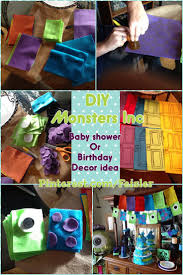 monsters inc diy birthday decorations do it yourself diy