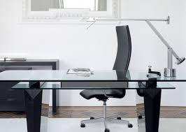 idabel dark brown wood modern desk with glass top awful ideas black wood desk near double computer desk cool corner