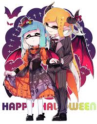 those are some elaborate halloween costumes splatoon know your