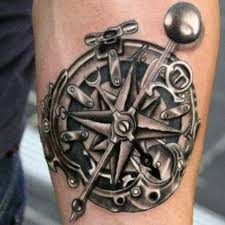 29 cool compass tattoo designs for men men u0027s tattoo ideas best
