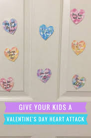 give your kids a valentine u0027s day heart attack free printable