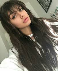 top 25 best fringe hairstyles ideas on pinterest fringes side