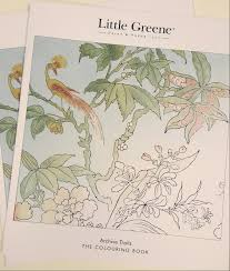 trails the colouring book little greene paint blog