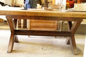 table cuisine en bois tables en bois signature dion signature st phane dion avec table de