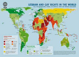 Countries Of The World Map by World Map Of Lgbt Rights Rainbow Warriors