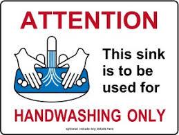 restaurant hand washing sink customize hand washing sink only kitchen sign food safety