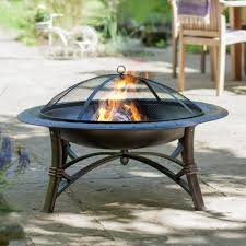 Steel Fire Pit - ellison cast iron wood burning fire pit u0026 reviews birch lane