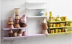 kids shelves string pocket wall shelves design wall shelving