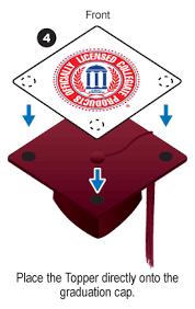 purple graduation cap lsu purple grad cap tassel topper tassel toppers
