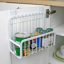 over the door cabinet creative metal over door storage basket practical kitchen cabinet