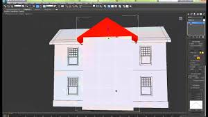 how to create an exterior house building in 3ds max autodesk