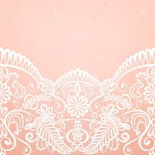 Design Patterns For Invitation Cards Template For Wedding Invitation Or Greeting Card With Lace Fabric