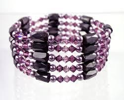 magnetic wrap bracelet images Magnetic bracelets hematite magnetic therapy jewelry wrap bracelet jpg