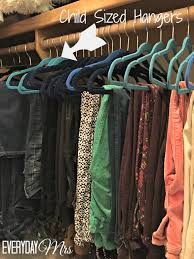how to organize your closet everyday mrs