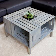 coffee table fascinating wine crate coffee table designs crate