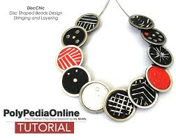 necklace beads diy images Polymer clay tutorial jewelry necklace tutorial polymer clay etsy jpg