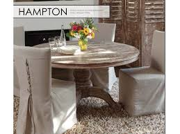 classic home dining room hampton round dining table 60
