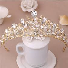 get cheap gold crown ornaments aliexpress alibaba