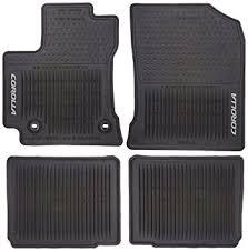 amazon com toyota pt908 02143 20 all weather floor mats automotive